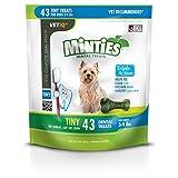 VetIQ Minties Dental Treats for Dogs, Tiny Size Dogs, 12 oz.