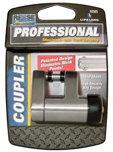 Fantastic Deal! Reese Towpower 7030500 Professional Chrome Coupler Lock