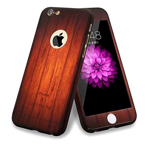 auroralove-iphone-se-case-iphone-5-5s-case-full-body-front-back-slim-plastic-hard-case-with-tempered