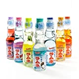 Shirakiku Ramune Carbonated Soft Drink Soda 200 ml - Lychee (200 ml)