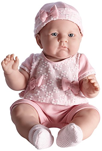"Jc Toys Lily 18"" Baby Doll In Light Pink"