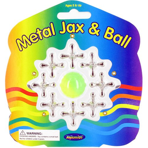 METAL JACKS & BALL by Toysmith