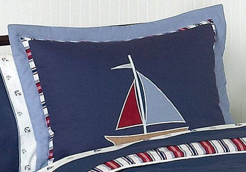 Nautical-Nights-Boys-Sailboat-Childrens-Bedding-3pc-Full-Queen-Set