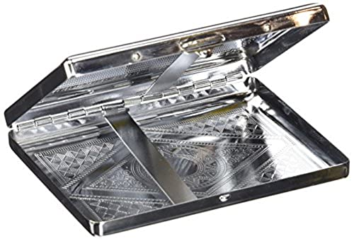 07. NeverXhale Accessories: Premium Stainless Steel Cigarette Case Holder and Credit Card RFID Protective