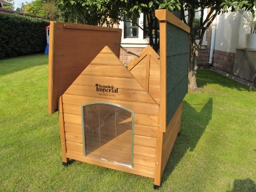 Kennels Imperial 174 Medium Wooden Sussex Dog Kennel With