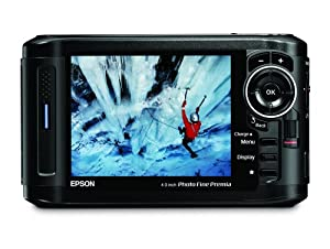 Epson P-7000 160GB Multimedia Storage Drive, Photo Viewer and Audio-Video Player with 4-Inch LCD