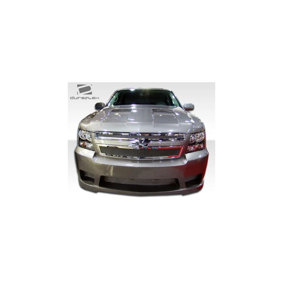 2007 2013 Chevrolet Tahoe Suburban Avalanche Duraflex Hot Wheels Front Bumper   1 Piece