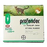 プロフェンダースポット 0.5kg?2.5kg 1箱2ピペット(動物用医薬品)