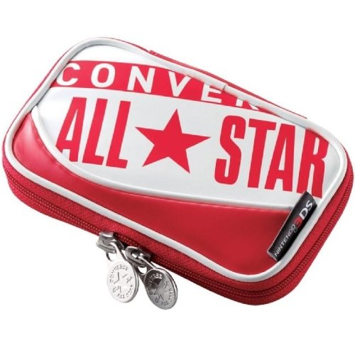 Converse Red Enamel Nintendo3Ds Case Gm-3Dsco1Rd Elecom Nintendo Official Licensed Products