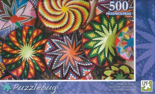 Puzzlebug 500 - Swirls & Twirls