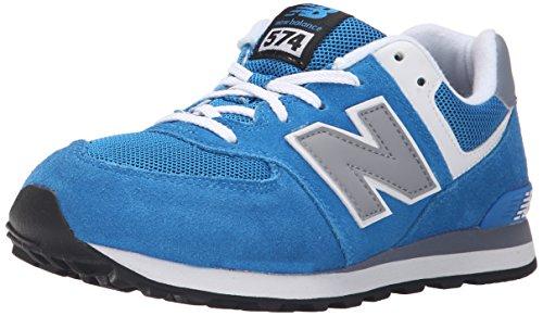 New BalanceKL574P2G - Sneaker Bambino , Blu (Bleu (Blue/Grey/462)), 36