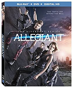 The Divergent Series: Allegiant [Blu-ray + DVD + Digital HD] from Lionsgate Home Entertainment