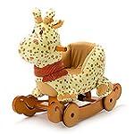 Hessie - Kids Plush Rocking Horse of...