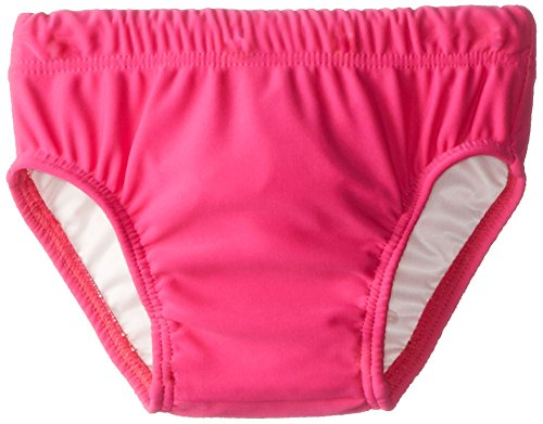 Baby Banz Girls' Chlorine Resistant Swim Diaper, Pink, Small - 1