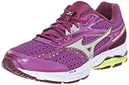 Mizuno Women\'s Wave Legend 3 Running Shoe, Hyacinth Violet/Silver, 9.5 B US