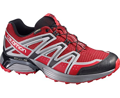 SALOMON XT Hornet GTX Men's Trail Running Shoes, Red/Grey, UK12.5