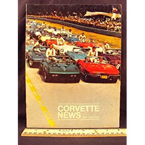 1969 69 October / November CORVETTE NEWS Magazine Chevrolet Motor Division