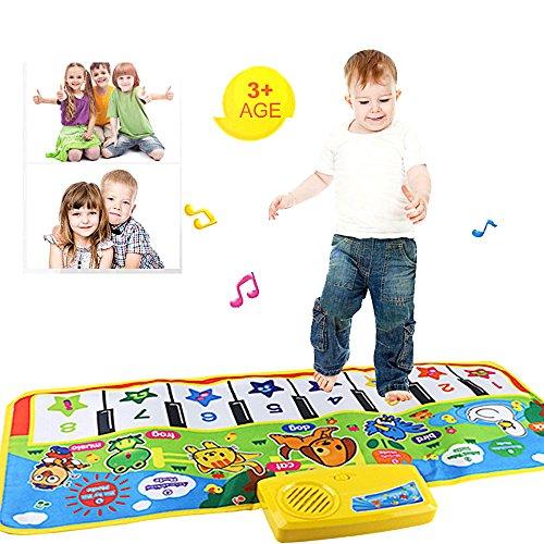Giocattolo Di Formazione,WINWINTOM 73 * 35Cm Touch Play Tastiera Musicale Canto Palestra Carpet Mat Migliore Regalo Dei Capretti Del Bambino