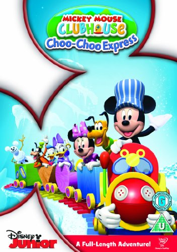 Mickey Mouse Club House: Mickey'S Choo Choo [Dvd + Retro Badge]