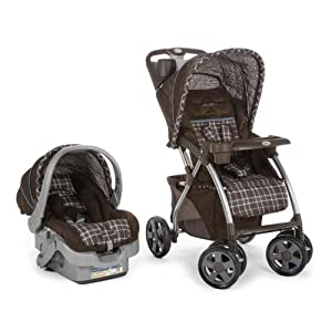 Eddie Bauer Adventurer Sport Travel System, Charter Atlantic Blue