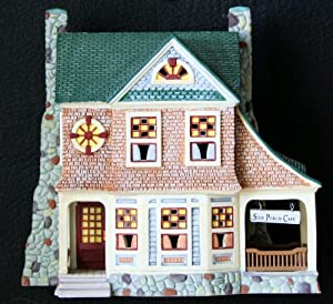 Department 56 Seasons Bay First Edition Side Porch Cafe - Retired