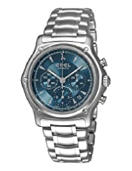 Bestseller Ebel Men's 9137L40/4360 1911 Blue Chronograph Dial Watch