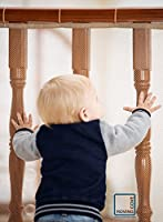 Roving Cove® Safe RailTM - Balcony and Stairway Safety Net - Banister and Stairs Rail Net from Mayapple Baby
