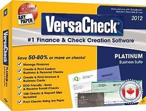VersaCheck Platinum 2012