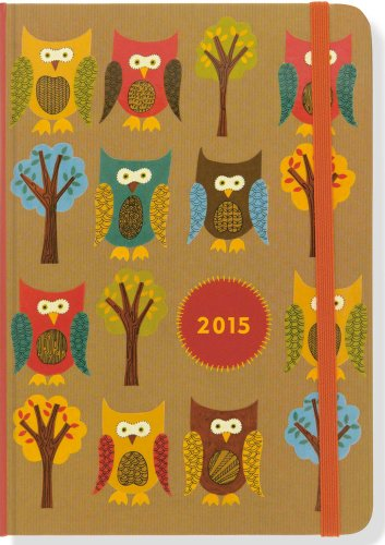 2015 Owls Weekly Planner (16-Month Engagement Calendar, Diary)