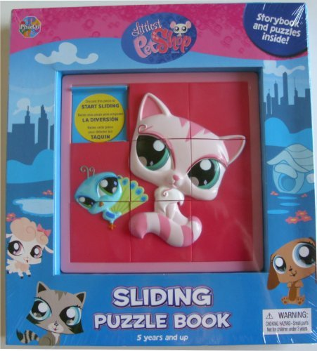 Littlest Pet Shop Sliding Puzzle Book - 1