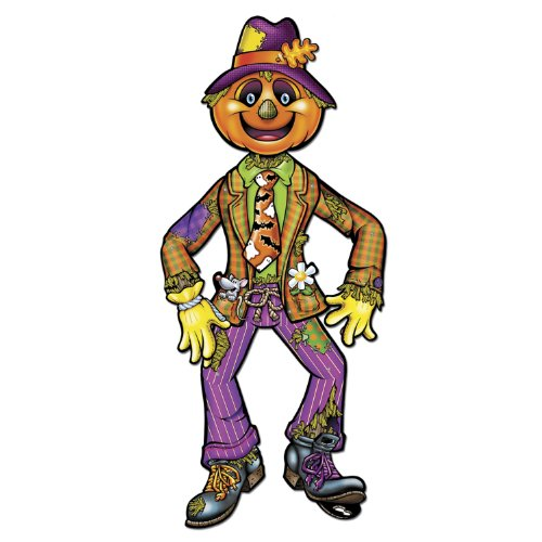 Beistle Jointed Scarecrow, 3-Feet 2-Inch