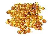 Honey Baltic Amber Beads, Polished Baroque 6-8 mm, 10 grams