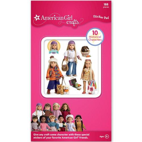 American Girl Historical Dolls Sticker Pad