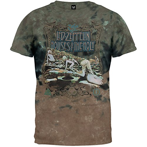 Led Zeppelin - House Of Holy Tie Dye T-Shirt - X-Large