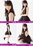 【野澤玲奈】 公式生写真 AKB48 Theater 2015.December 月別12月 4枚コンプ