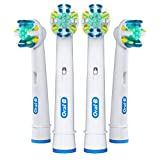 Oral-B Floss Action Replacement Electric Toothbrush Head (Pack of 3)
