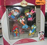 Disney Mickey Mouse 5-piece Christmas Ornament Set