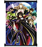 "Code Geass: Lelouch of the Rebellion Anime Fabric Wall Scroll Poster (16""x22"") Inches"