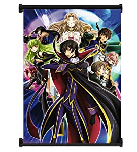 """Code Geass: Lelouch of the Rebellion Anime Fabric Wall Scroll Poster (31""""x42"""") Inches"""
