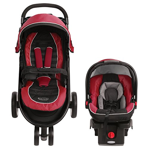Graco Aire Click Connect Travel System Stroller Helios