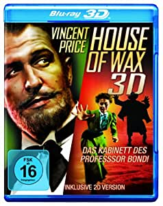 House of Wax - Das Kabinett des Professor Bondi (Blu-ray 3D + 2D)
