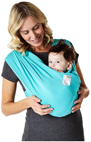 Baby K'tan Breeze Baby Carrier, Teal, Small (Baby Ktan Breeze Small compare prices)