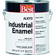 -W50W00801-16Do it Best Alkyd Industrial Enamel-GLS PSTL/WHT ALKYD PAINT