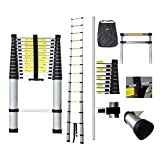 4.1 m telescopic ladder with a complimentary carry bag