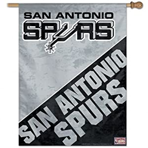 NBA San Antonio Spurs 27-by-37-Inch Vertical Flag-Hardwood Classics by WinCraft