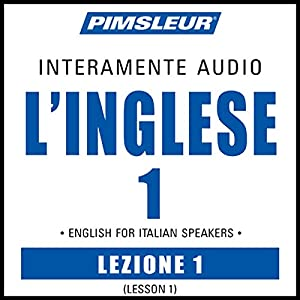 ESL Italian Phase 1, Unit 01 Audiobook