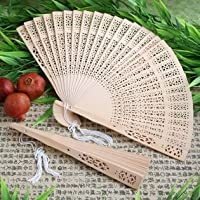 Sandalwood Fan Favors - Lesbian Wedding Planning