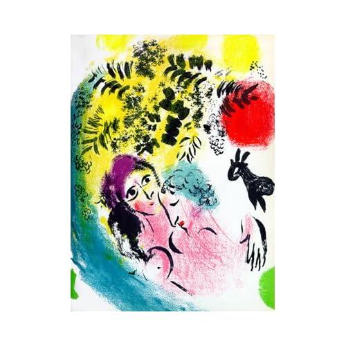 Amazon.com : Marc Chagall Original Color Lithograph Catalogue Ref