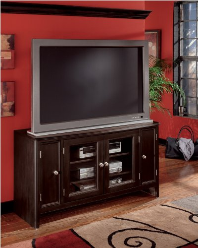 Cheap Carlyle 2- Door TV Stand by Ashley Furniture (B001PYSCZK)