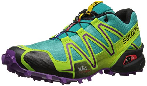 Salomon Women's Speedcross 3 W Trail Running Shoe, Teal Blue, 7.5 B US (Speedcross 3 compare prices)